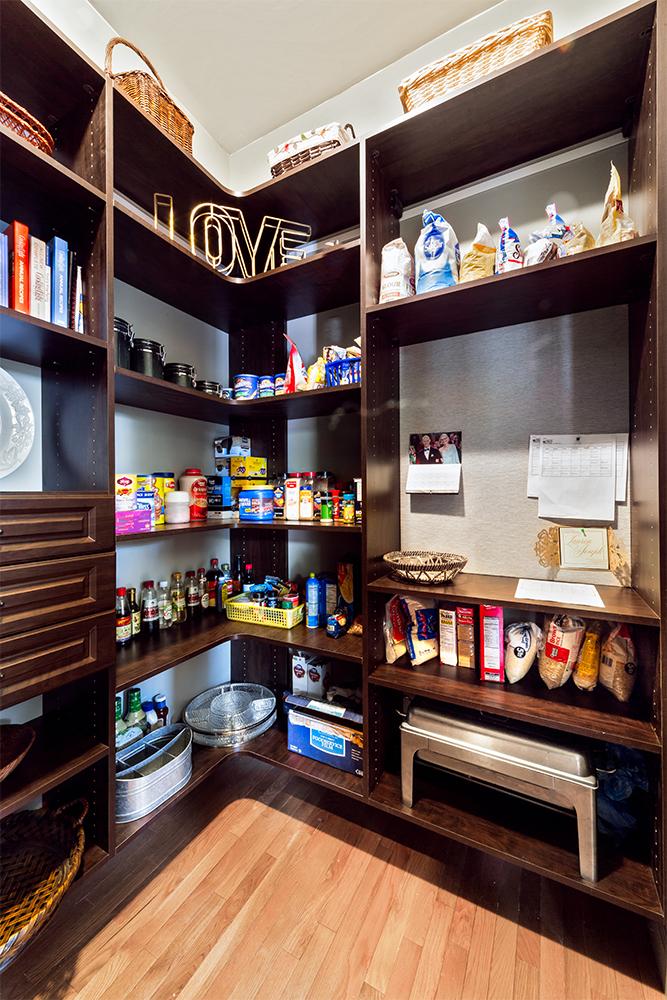 Beyond Storage Custom Kitchen Pantry Design