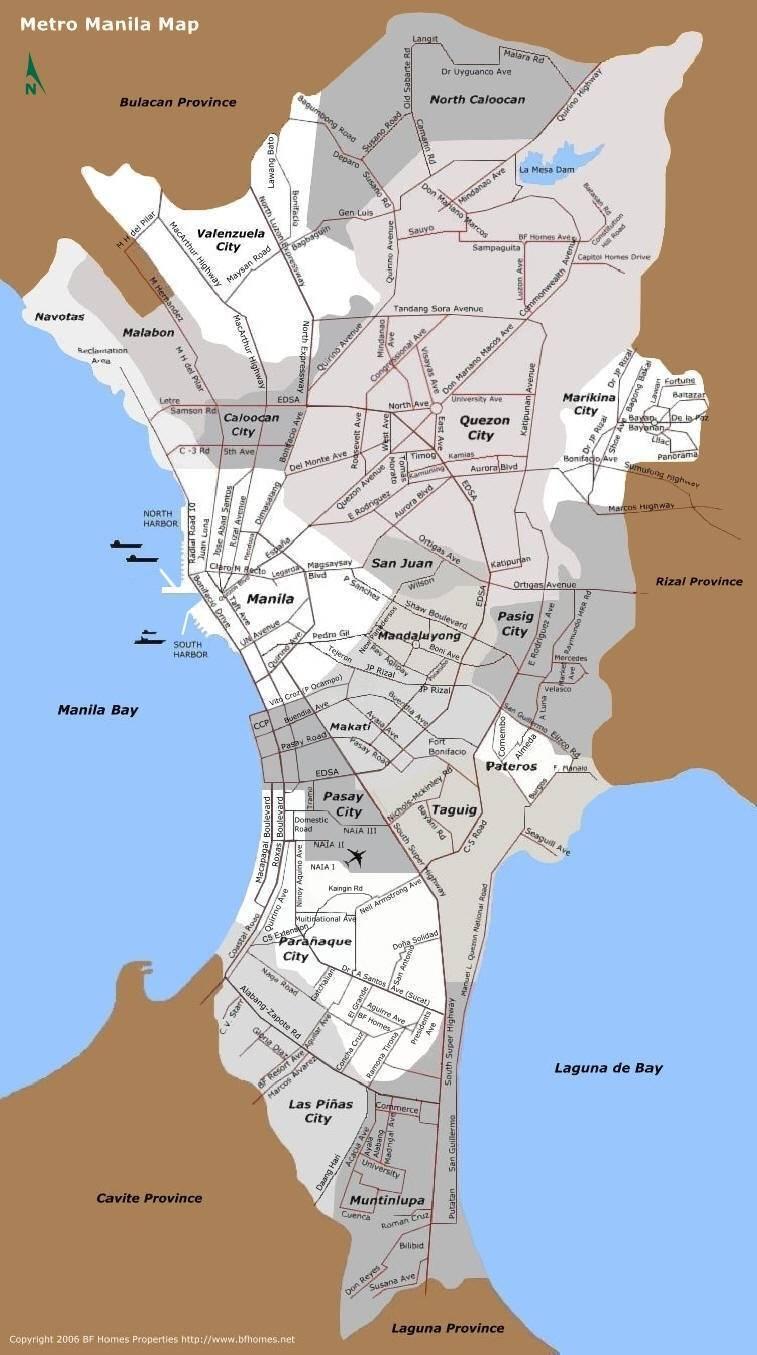 Quezon City Map Streets