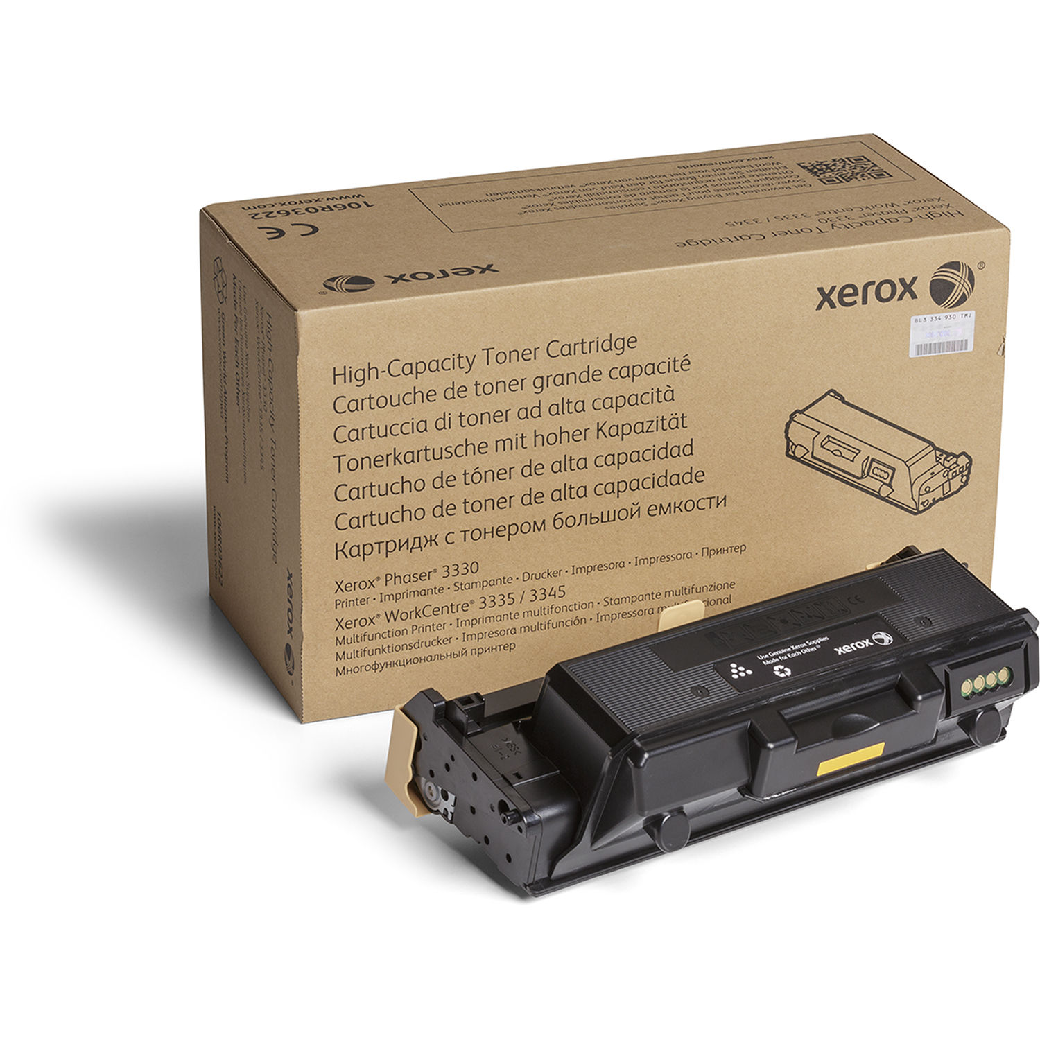 Xerox Toner Cartridge Return