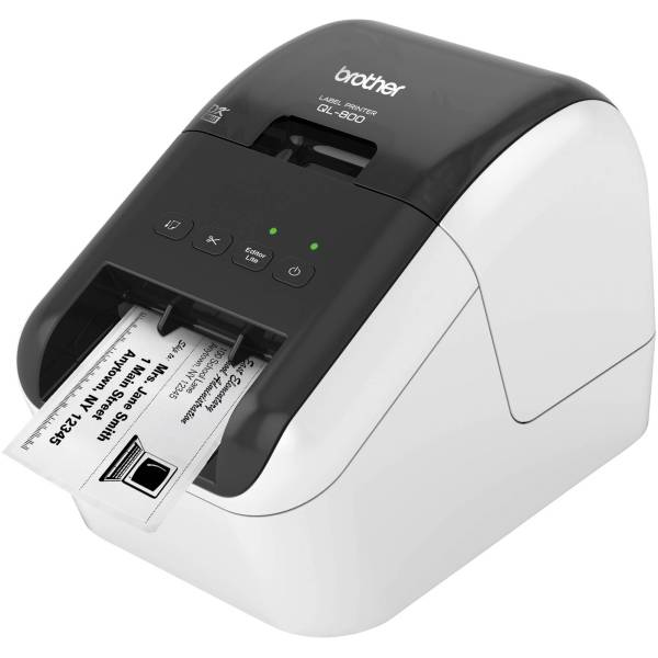 Brother QL 800 High Speed Professional Label Printer QL800 B H Brother QL 800 High Speed Professional Label Printer