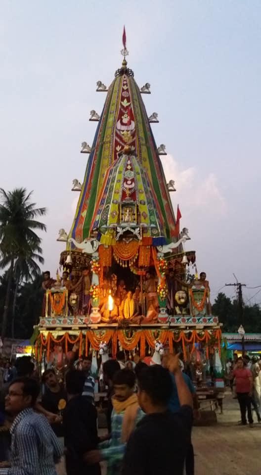 Maa Biraja Ratha Jatra Durga Puja Odisha 2 Bhubaneswar Buzz