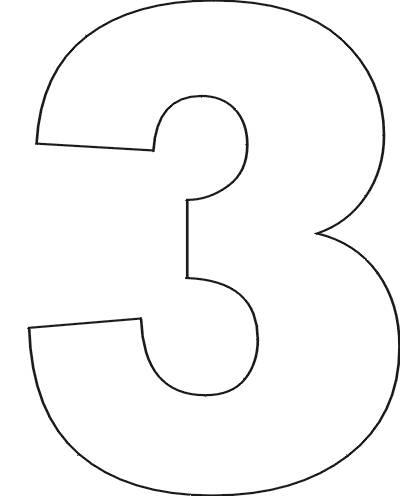 number 3 # 16