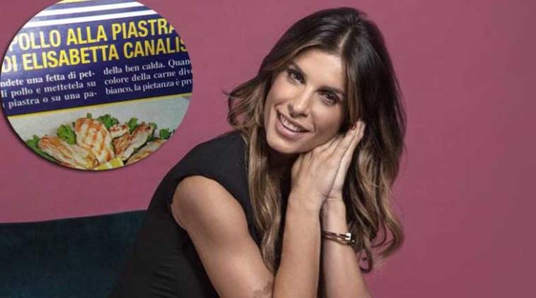 Elisabetta Canalis confonde Frank Matano con Alberto Matano e commenta il suo celebre pollo alla piastra