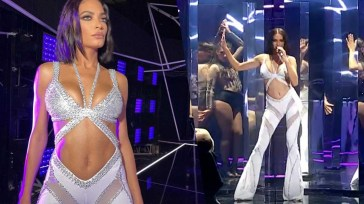 Elodie pazzesca balla e canta Raffaella Carrà da Alessandro Cattelan