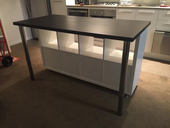 White Kitchen Table 120cm
