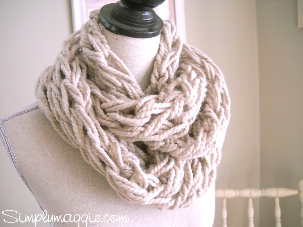 Sew Crochet Knit Cowl Pattern