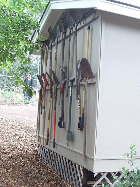 Diy Garden Tool Shed