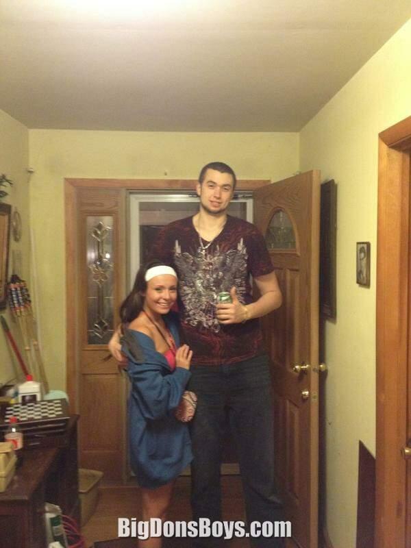 Men And Tall Robe Big