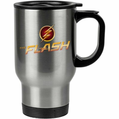 Caneca Térmica The Flash Logo V02 500ml Inox