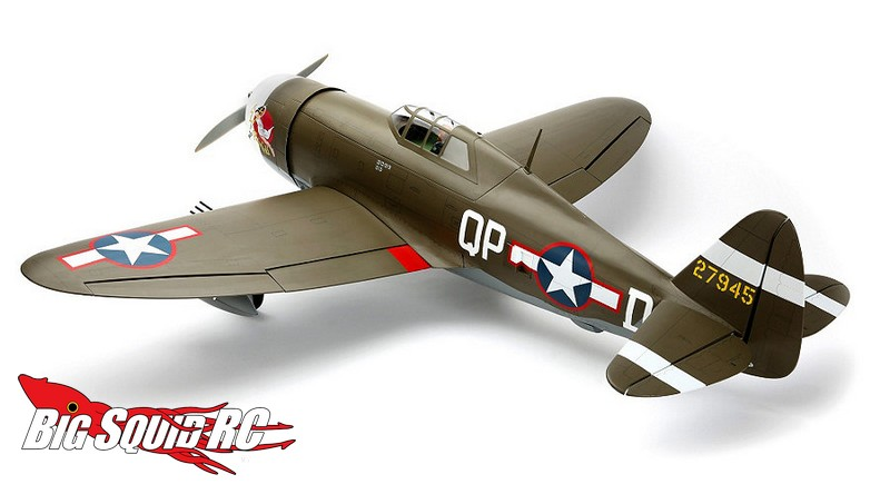 Hangar 9 P 47D 1 Thunderbolt 60 ARF      Big Squid RC     RC Car and     Hangar 9 P 47D 1 Thunderbolt 60 ARF
