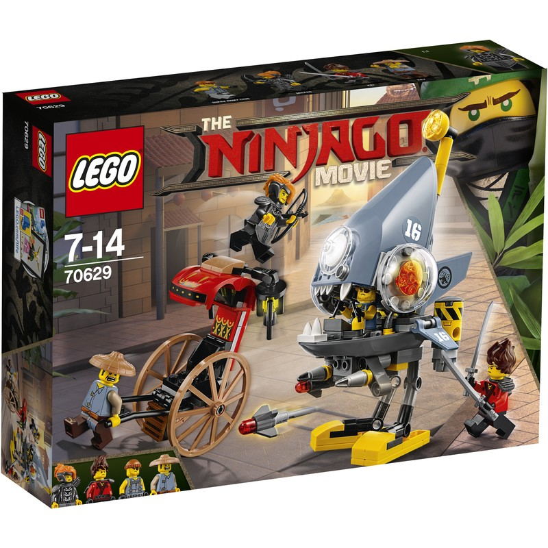 LEGO Ninjago   Toys   BIG W LEGO The Ninjago Movie Piranha Attack   70629