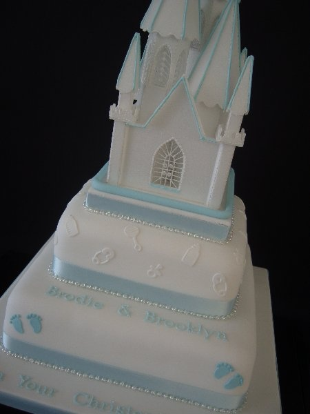 Unusual Boys Christening Cakes