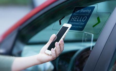 Secure self service car rental and car sharing   BioID car rentals and sharing with biometrics