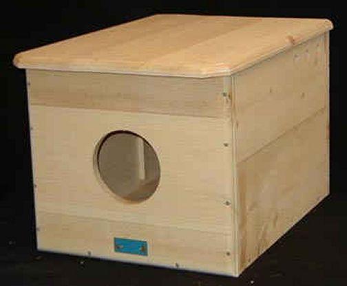 Bird Central - Barn Owl House - Owl Houses / Owl Nesting ...