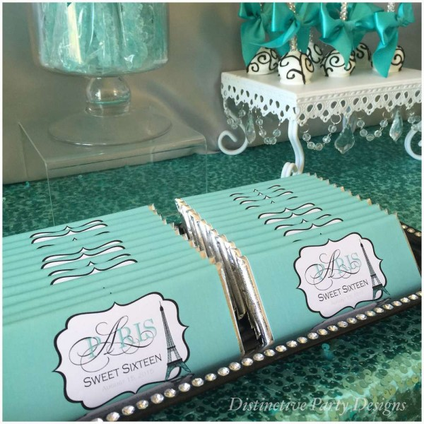 Sweet Sixteen Paris Style Birthday Birthday Party Ideas