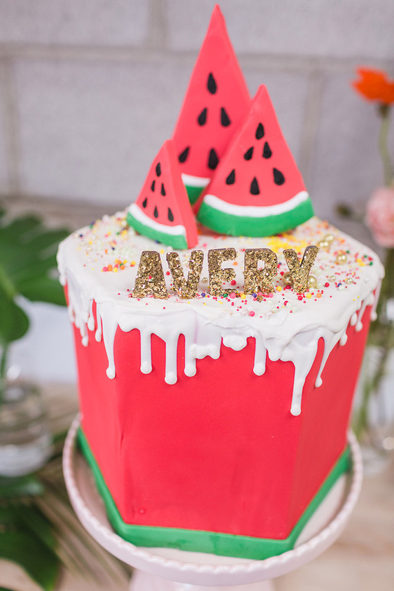 Sunshine And Watermelon Birthday Party Birthday Party