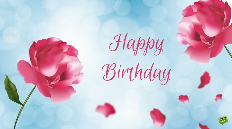 Floral Wishes eCards   Free Birthday Images with Flowers Happy Birthday
