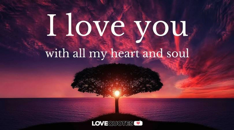 I My Heart Soul All You And Love