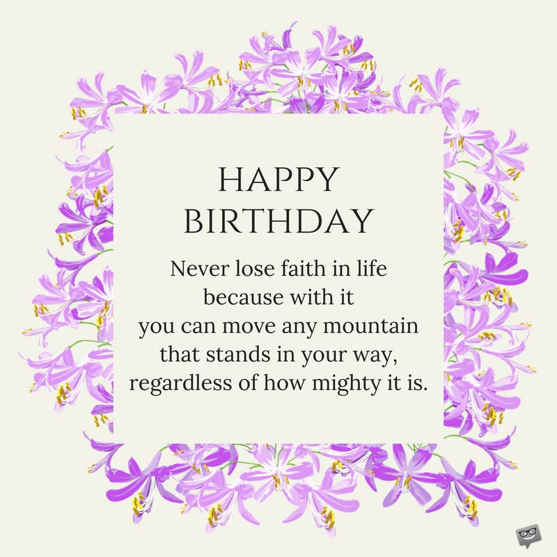 Inspirational Birthday Wishes: Inspirational Birthday Wishes Sister