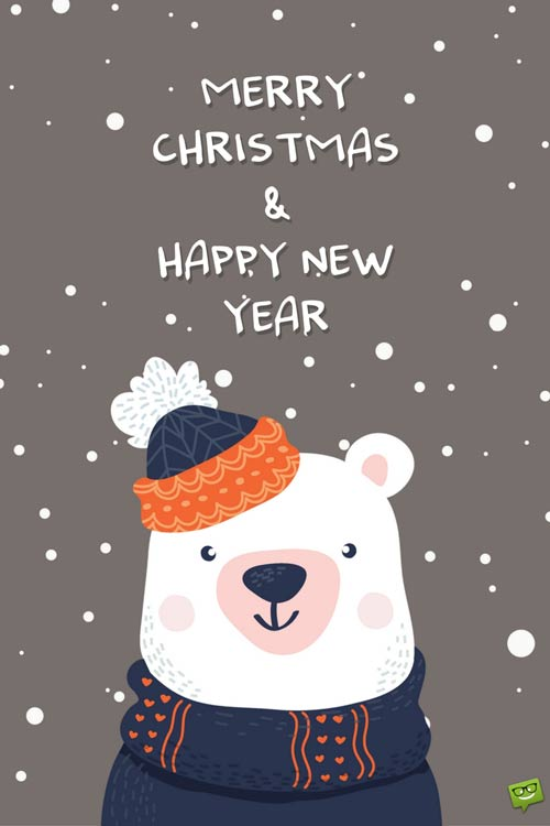 And Happy Christmas New Merry 2017 Greetings Year
