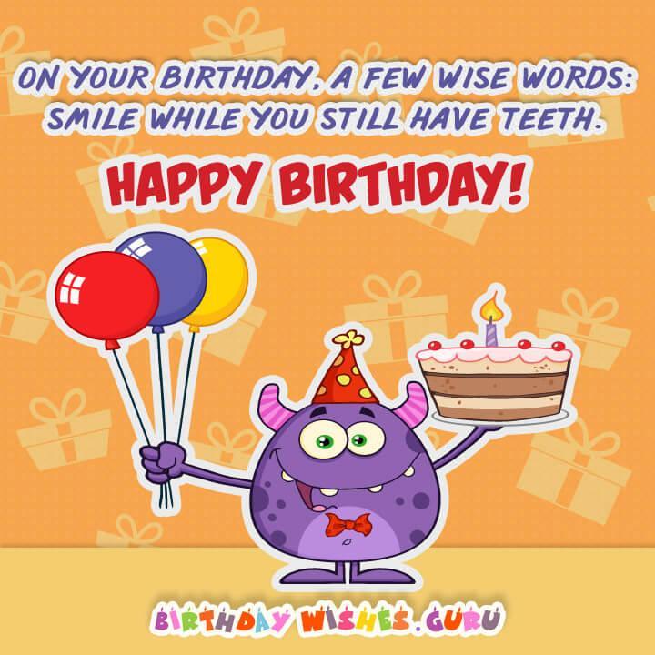 Happy Birthday Joke Quotes