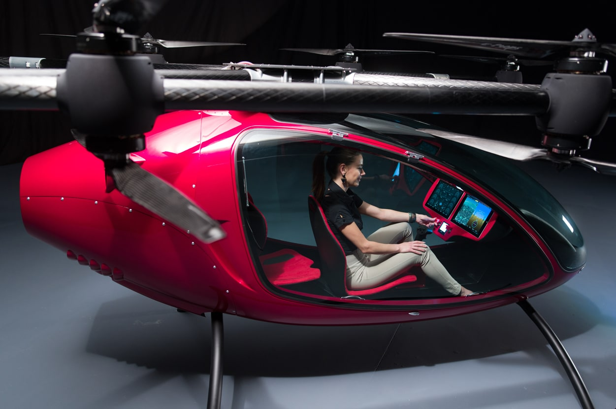 Passenger Drone The New Way To Commute Through The Skies