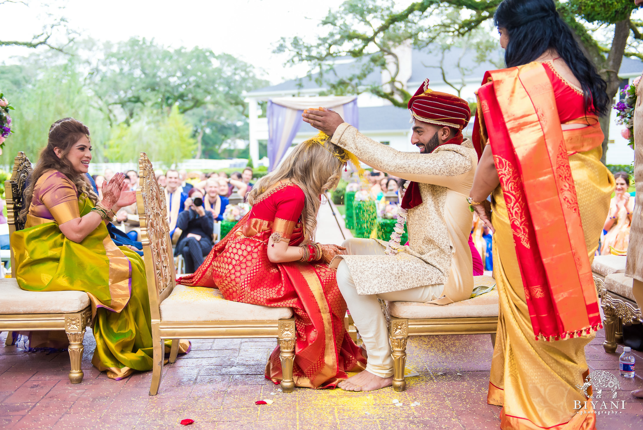 Indian Fusion Telugu Wedding Ceremony The Springs Event Venues Angleton Tx Indian Wedding