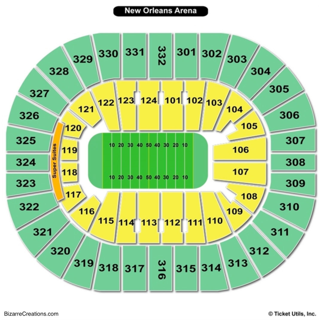 Joe Louis Arena Seating Map