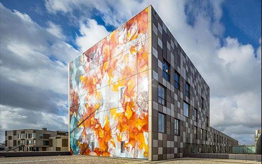 彩釉玻璃 远大东方玻璃幕墙(北京)有限公司