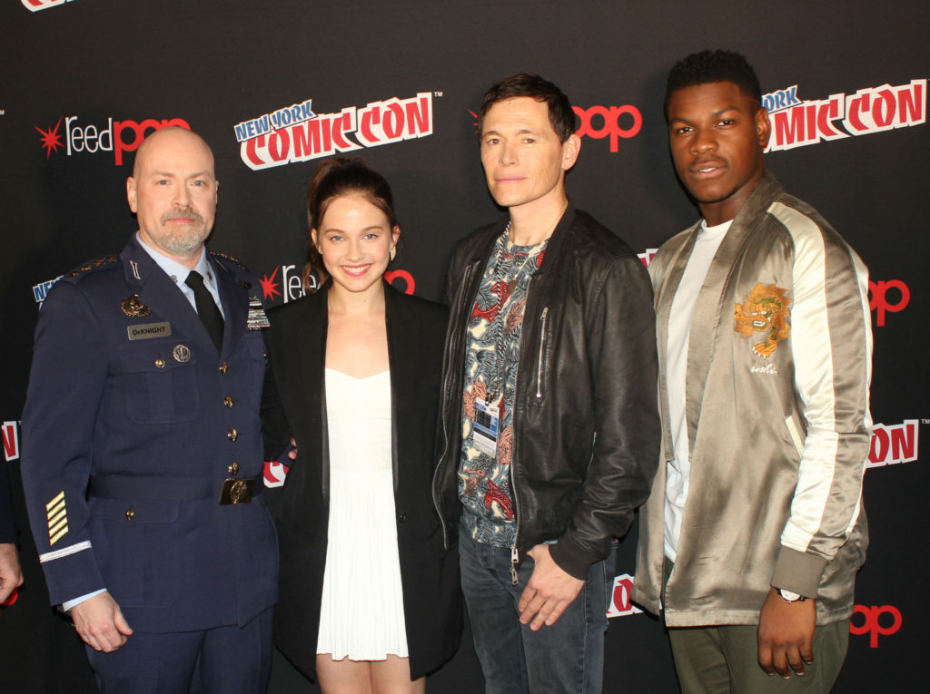 Pacific Rim Uprising NYCC 2017 - director Steven S ...