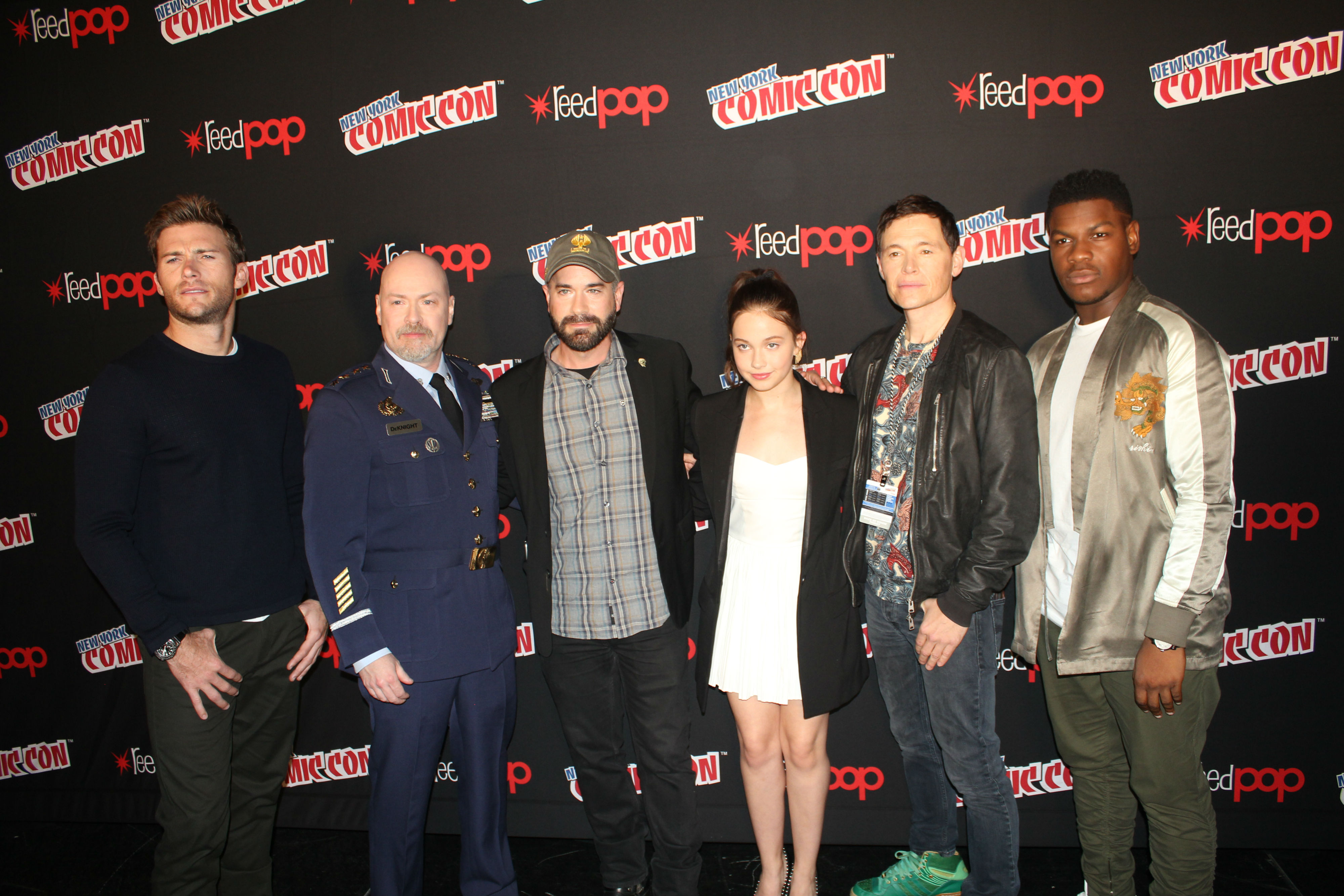 NYCC 2017: Pacific Rim Uprising Cast Interviews ...