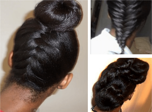 Styles Wear While Transitioning Natural Hair