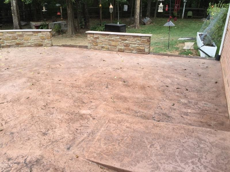 Stamped Seamless Concrete