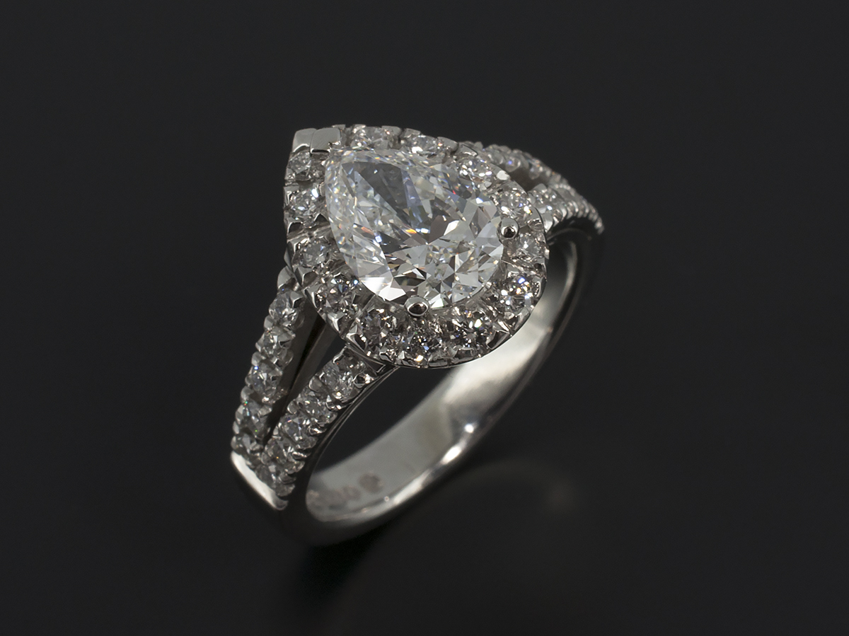 Pear Cut Marquise Cut And Heart Cut Diamond Engagement Rings Gallery