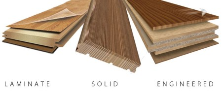 Solid vs Engineered Flooring Consists of layers of wood pressed together  with the grains running in  different directions  Engineered flooring is perfect for those areas of the  house