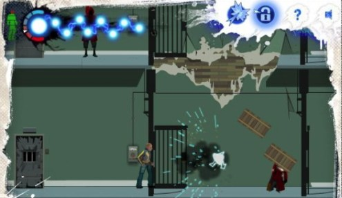 Play the inFamous Flash game to electrify your work day