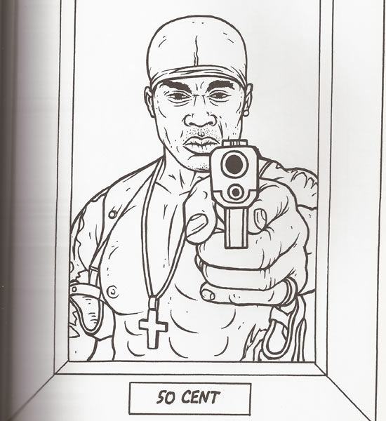 Master P Gangsta Rap Coloring Book Hip Hop Graffiti Coloring Pages ...