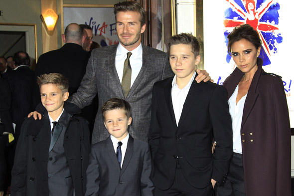 Beckham Babies: Victoria And David's Four Children Look ...