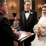 O momento do casamento de Sheldon e Amy em The Big Bang Theory