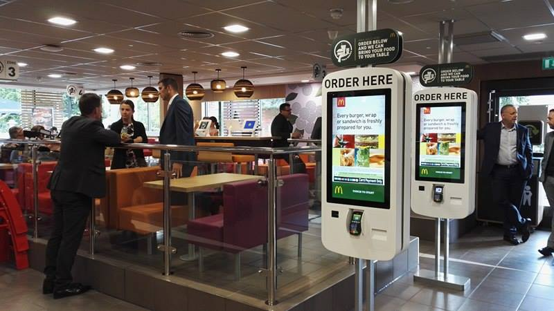 Fast Food Restaurant Mcdonald