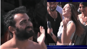 """Aereo al Grande Fratello Vip per Gianmaria e Soleil Sorge: i fan sognano il colpo di scena """"accendi il cuore e spegni il cervello"""" – VIDEO"""