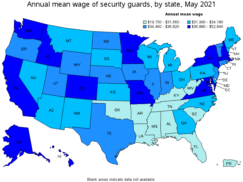 Armed Security Guard Salary Ny