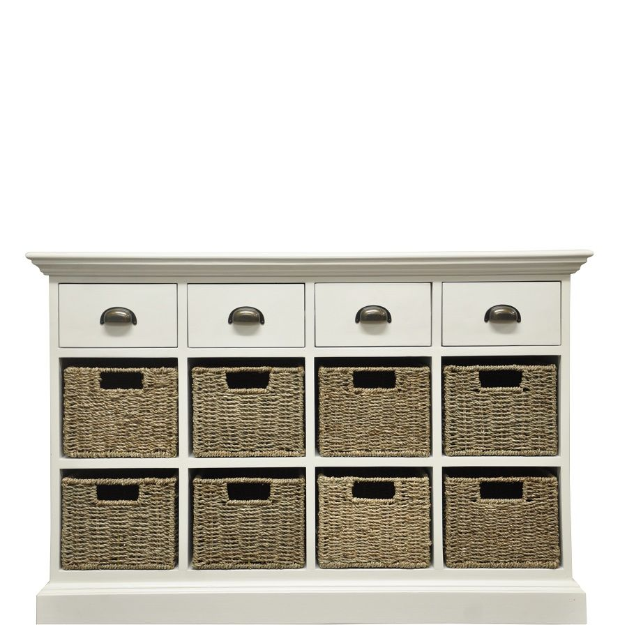 Newport 4 Drawer 8 Basket Unit