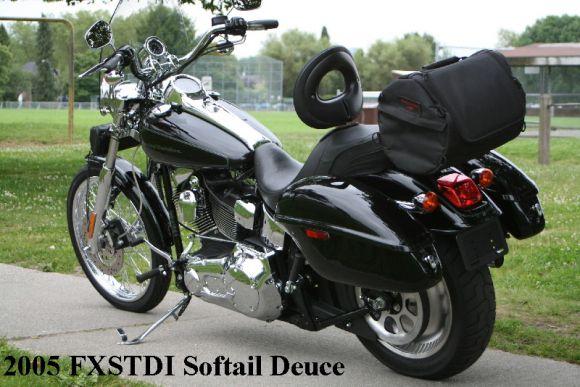 Harley Davidson Deuce Hard Saddlebags