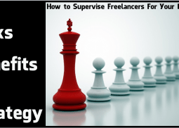 How to Supervise Freelancers For Your Business? The Risks, Benefits, and Strategy