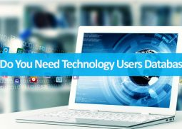 Why Do You Need Technology Users Database?