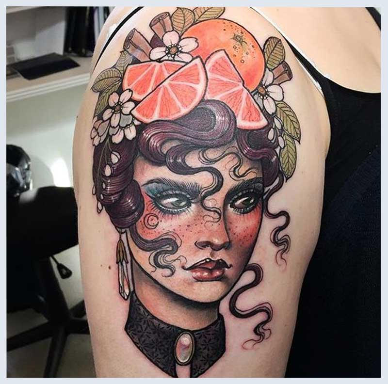 All About Cameo Tattoos - Cameo Inspired Tattoos | Tattoos ...