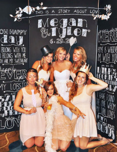 wedding photo booth party