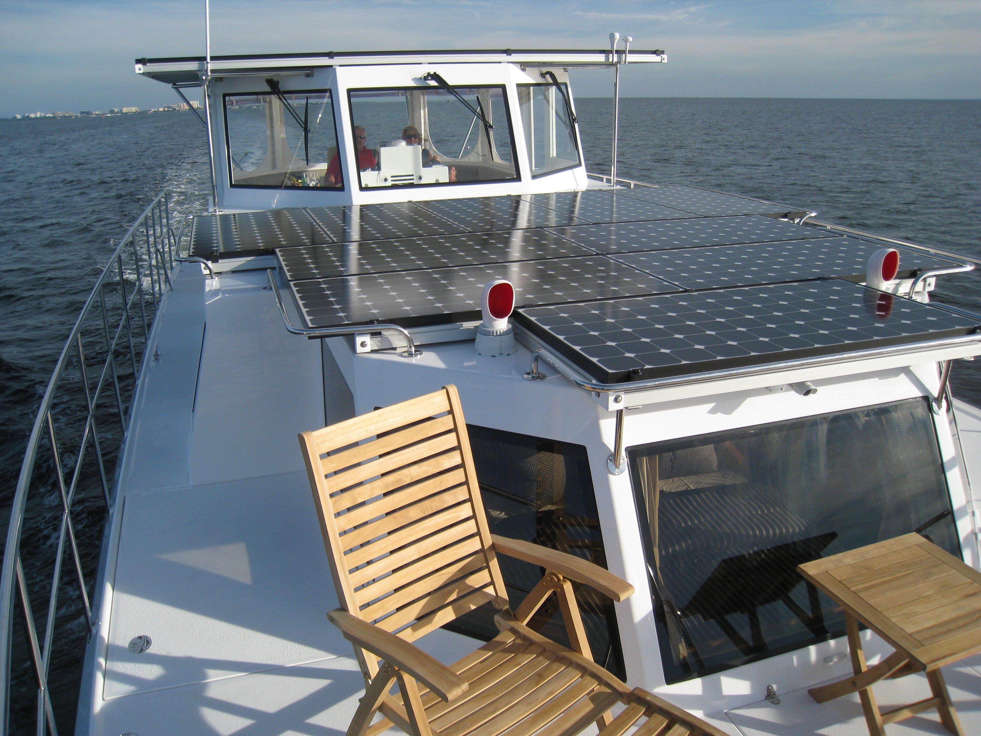 Marine Solar System Sailboat