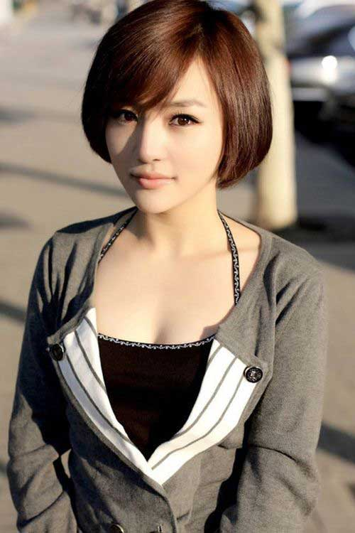 10 Chinese Bob Hairstyle Pictures | Bob Hairstyles 2018 ...